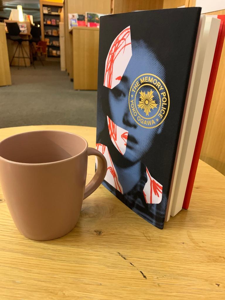 "image of yoko ogawa's novel ""the memory police"""