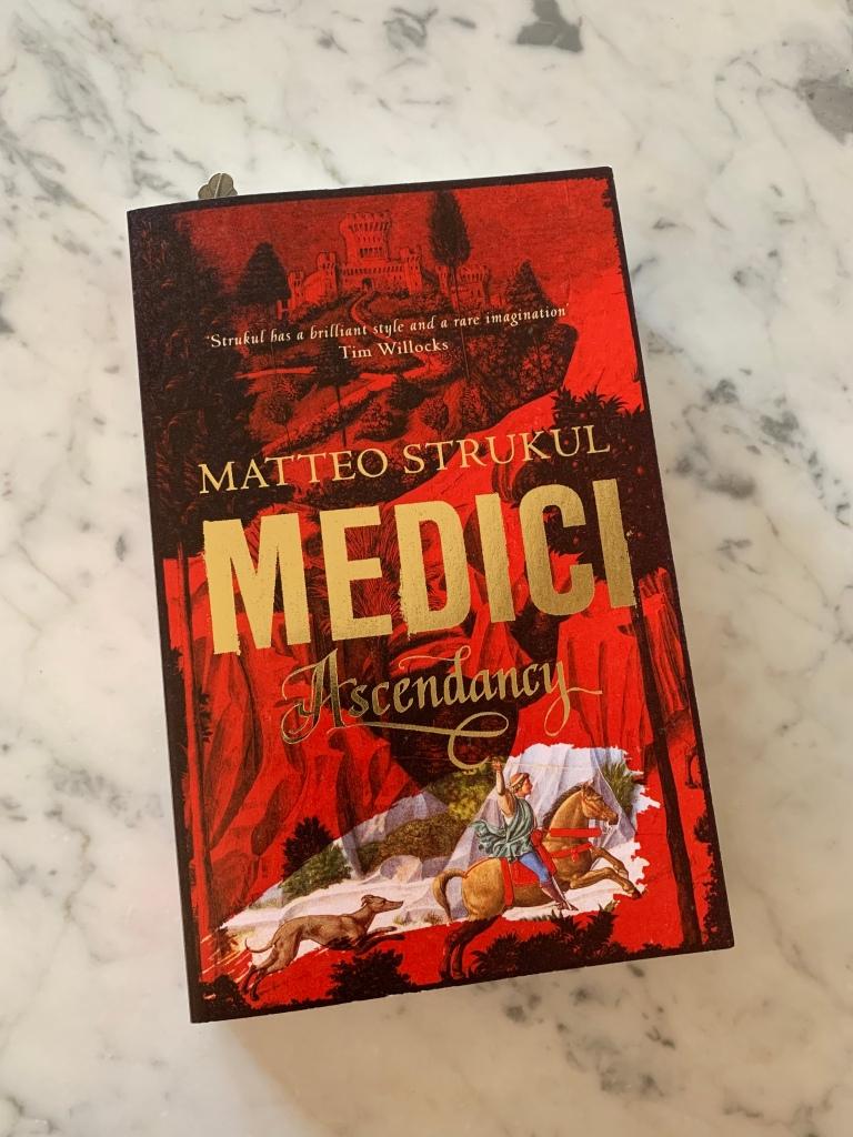 "image of Matteo Strukul's ""Medici: Ascendancy"""