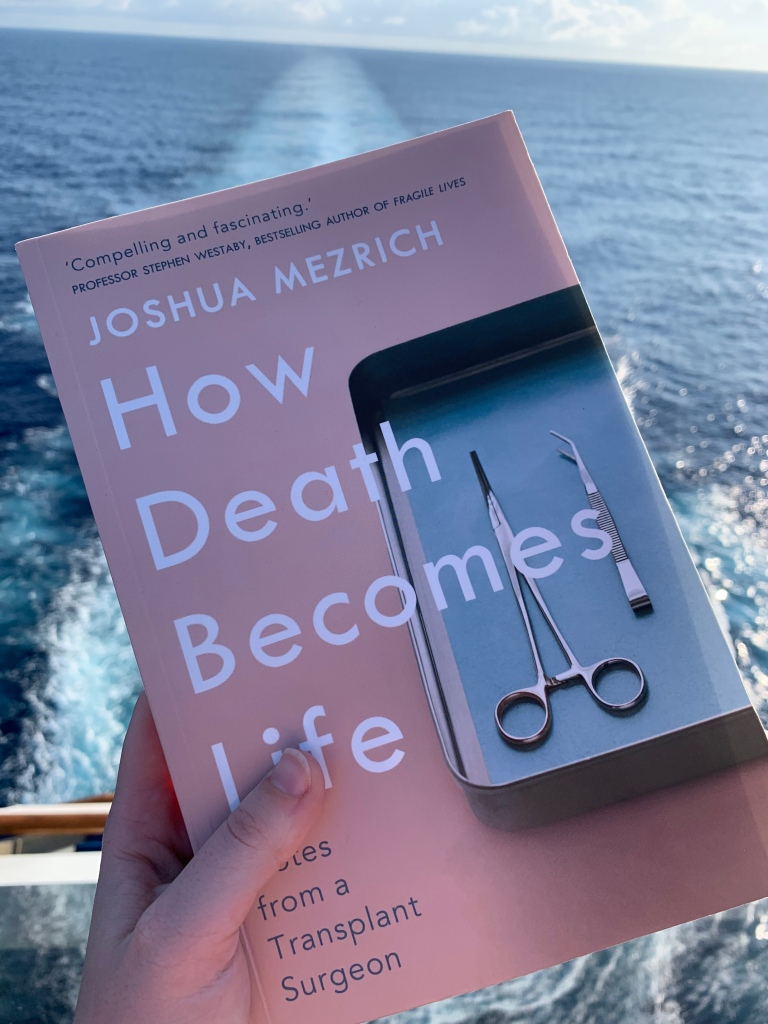 """image of Mezrich's book """"How Death Becomes Life"""""""